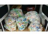 菊水中央小学校の生徒さん達がペットボトルキャップを集めてくれました。(^。^)v