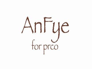 AnFye for prco