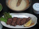 牛タン麦とろ定食