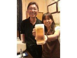 「おつかれさま生ビール」1杯サービス
