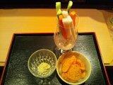 野菜スティックサラダ・アボカドディップ添え