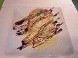 【ホットーケーキ♪】オリジナルバニラソース仕立て(*^。^*)