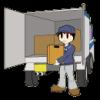 赤穂市で荷卸し作業でした。