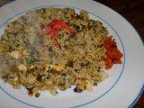 水曜日 広島菜と高菜の焼飯