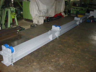 循環水ポンプ 主軸受架台製作完了