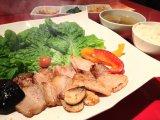 銘柄豚のサムギョプサル定食
