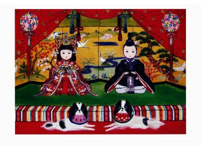2/17(月)~22(日)須藤陽子の雛祭り展