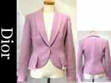 Dior/ディオール ウールジャケット36パープル