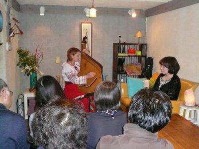 「ウクライナの民族楽器バンドゥーラの音色 - カテリーナ with Yukiko コンサート」大盛況のうちに終了しました♪