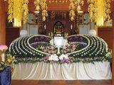 寺院葬儀おくり花飾り①
