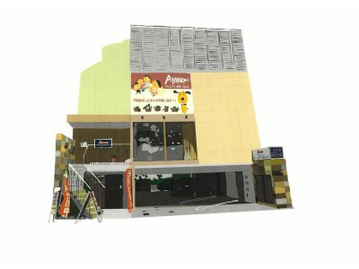 お店の風景(ポスタータッチ)