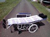 リクライニング式車椅子:簡易ストレッチャー仕様