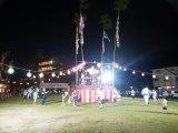 盆踊り大会。