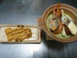抹茶ラテ鍋&一色産ウナギの蒲焼き