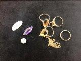 石が取れた金の指輪 買取 ウィズ・ユー日進店 東郷 みよし 長久手 名東 天白