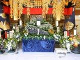 寺院葬儀おくり花飾り③