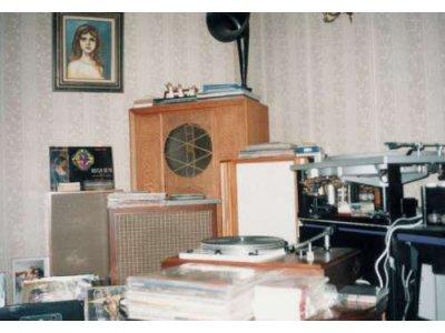 蓄音機  なんだか、ヘンだよ、このサウンド・ボックス ・・・   ビビるもの ????