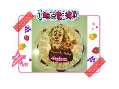 【オリジナルキャラクターケーキ♪】