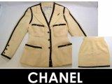 CHANEL/シャネル ウールセットアップ/スーツスカート40