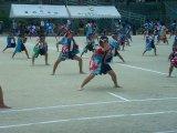 小中学校合同運動会がありました。