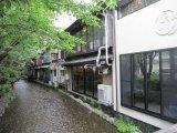 京都河原町 鴨川の床でランチ「雪月花」さんにて…