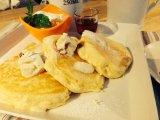 リコッタチーズのパンケーキ