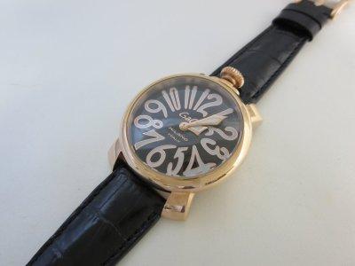 腕時計のバンドの長さをオーダー(ガガミラノ・腕が細い方場合)