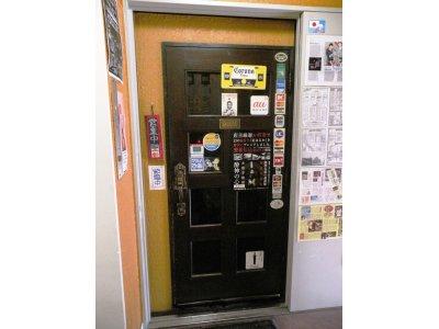 JazzBarサムライ玄関