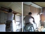 昨日の続き・・・明石市大久保でキッチンの入れ替え工事をしています☆