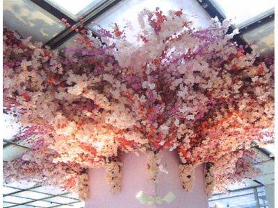 桜のディスプレイ飾りの用品専門サイトを開設