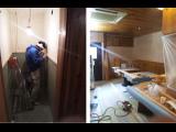 神戸市中央区居抜き店舗改装工事は着々と進行中です!!
