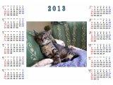 マイカレンダー・オリジナルカレンダー・カラーコピーカレンダー 2013