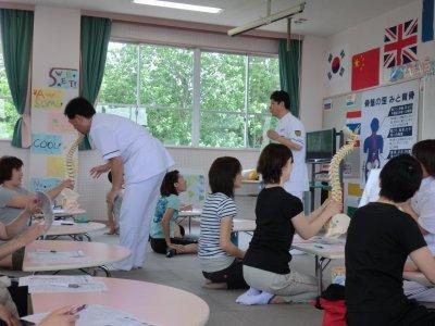 小学校での健康講座!