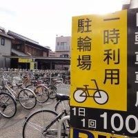 サイクルロック③  JR大久保駅前  一時利用駐輪場