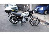 以前に新車販売したバイクです。YB125SPです。
