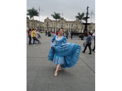 ペルー舞踊★マリネラ教室★毎週日曜日☆体験レッスン1000円♪