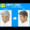 Men's カレンシアカラー(白髪ぼかし)