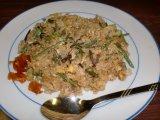 月曜日 山菜焼飯