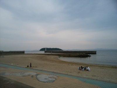 恵比寿海水浴場。