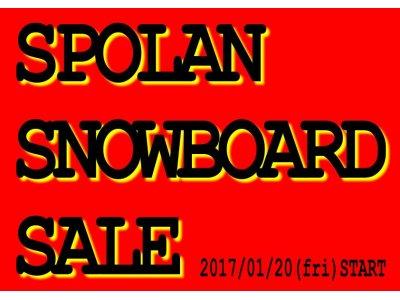 S.S.S. SPOLAN SNOWBOARD SALE !