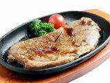 王道の牛ステーキ