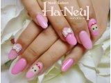 ピンクのねこちゃんネイル♪