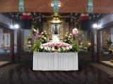 寺院葬儀おくり花飾り②