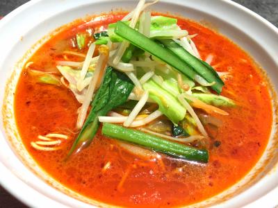 野菜たっぷり坦々麺