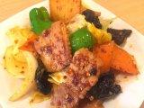 厚切り豚バラの回鍋肉