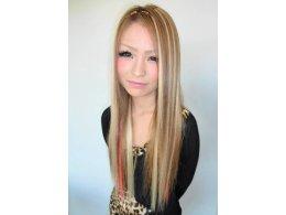 エクステ付け放題+カラー(根本のみ)+自毛なじませカット+巻き髪
