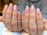 エアブラシでふんわり可愛いピンクに!