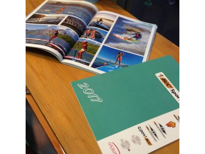 BIC SUP & SURF & KAYAK & WINDSURFING & DINGHY 2017 CATALOG