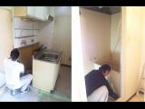 神戸市兵庫区熊野町で改装工事がはじまりました☆
