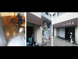 神戸市中央区居抜き店舗改装工事は本日で、ほぼ終了です
